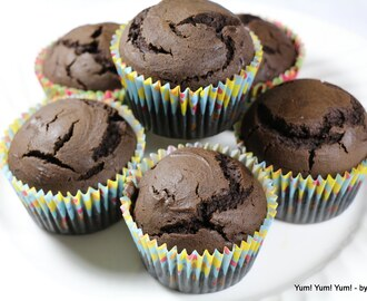 Chocolate Avocado Cupcakes  ~ Vegan Recipes