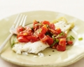 Sautéed Flounder with Mint and Tomatoes