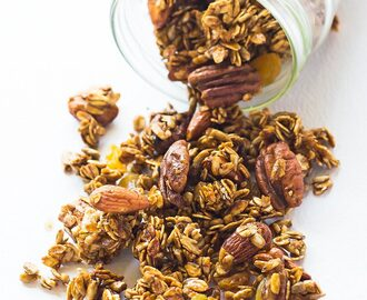 Gingerbread Granola Recipe – gluten free, clean eating