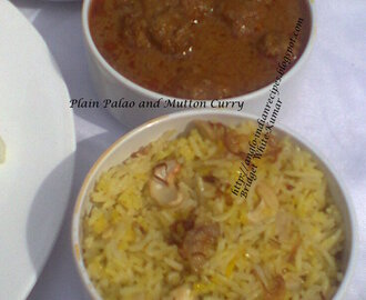 PLAIN PULAO AND MUTTON / LAMB VINDALOO