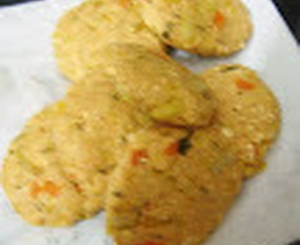 PANEER/COTTAGE CHEESE VEGETABLE CUTLET
