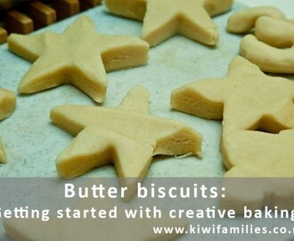 Butter biscuits: Getting started with creative baking