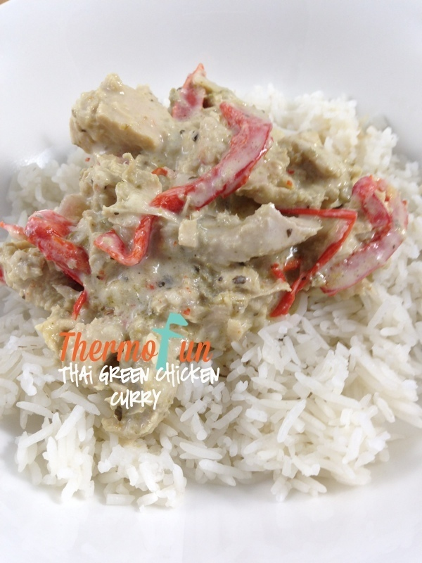 ThermoFun – Thai Green Chicken Curry Recipe