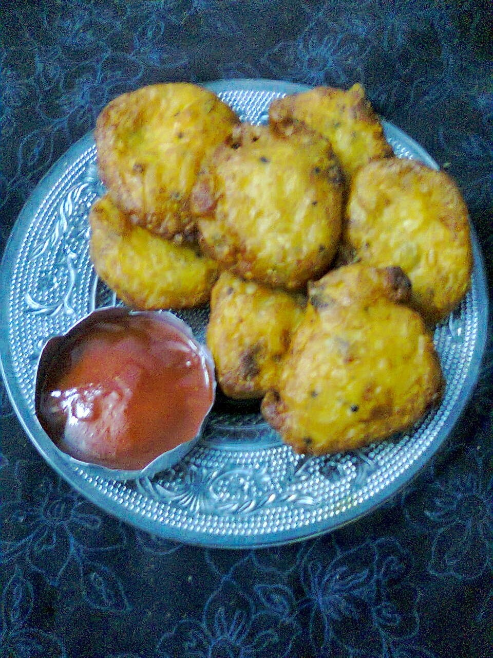 Delicious Snacks -- Mysore Bonda In Bengali Style.