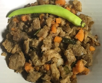 Pork Adobo Sisig