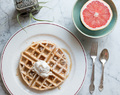 Sweet Potato Waffles for Mother's Day