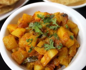 potato curry recipe | aloo curry | potato gravy for chapathi