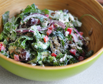 Comment on Charred broccoli salad with toasted seeds, olives & feta by Lynz Real Cooking