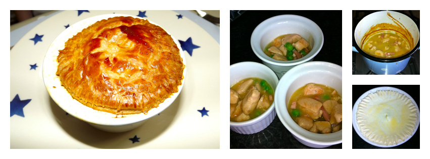 Chicken Pie for Kids
