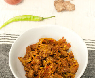 Goan Beef Chilli Fry Recipe – Quick & Easy Spicy Stir Fried Beef the Indian Goan Style