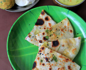Amritsari Kulcha - Aloo kulcha -  Kids friendly recipe - Punjabi Special recipe