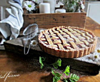 VEGAN FRIDAY: CROSTATA VEG ALLA MARMELLATA DI FRAGOLE