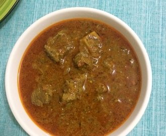 Mutton Vindaloo | Lamb Vindaloo | Goan Vindaloo Curry | Goan Cuisine | Goan Mutton Recipes
