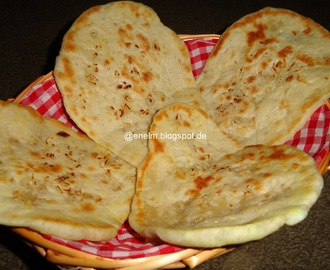 Garlic Naan without Tandoor on Stove top