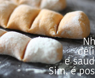 Nhoque de Batata Doce Fit
