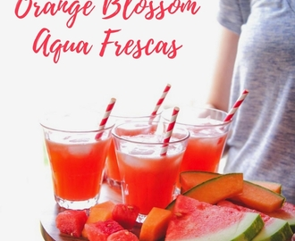 Melon Orange Blossom Aqua Frescas