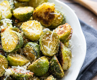Parmesan Roasted Brussels Sprouts