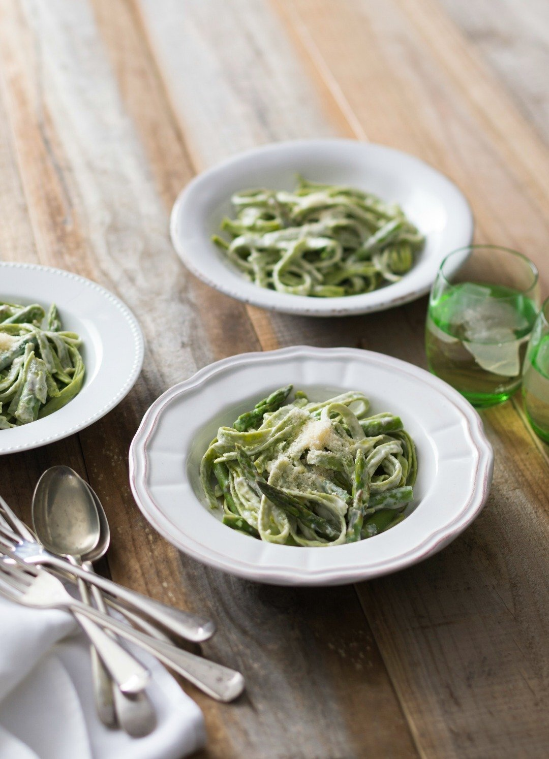 Thermomix Gluten Free Spinach and Lemon Pasta