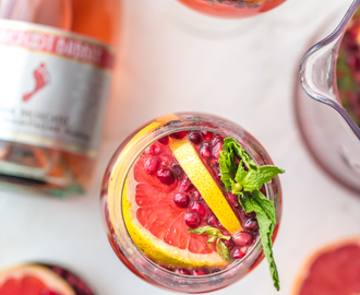 Pink Champagne Sangria