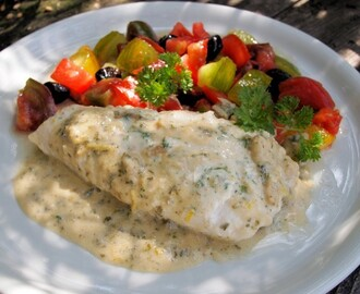 Fasting and Feasting with Fish on Friday: Middle Eastern Tahini and Lemon Baked Fish – Perfect for the 5:2 Diet