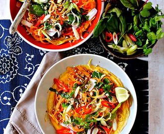 Pad Thai Open-Faced Omelette – A Healthy Reimagining Of A Favourite National Dish
