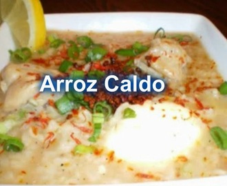 Arroz Caldo Filipino Food Recipe