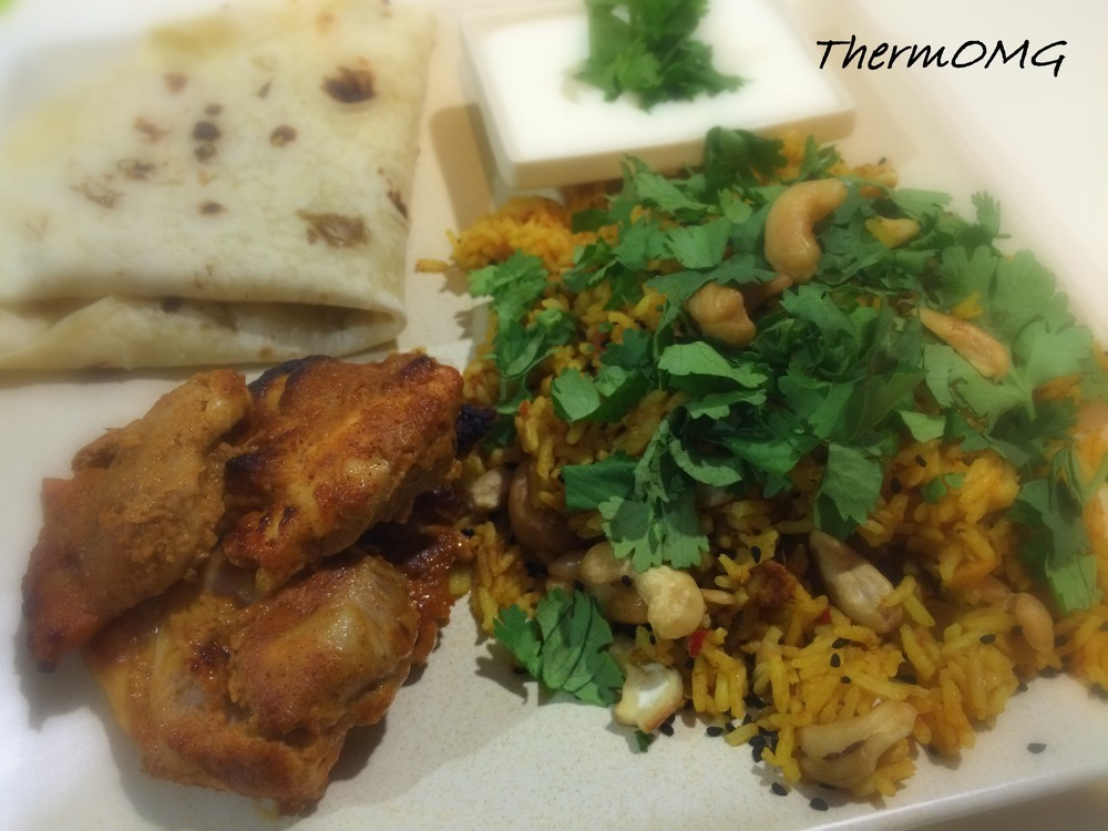 Biryani Chicken and Rice using TM5 Automated Cooking mode