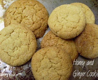 Honey and Ginger Cookies with New Zealand Honey Co.