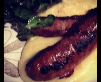 Bangers and mash ... in the Thermomix