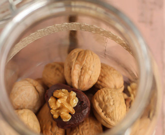 Nueces de chocolate y praliné
