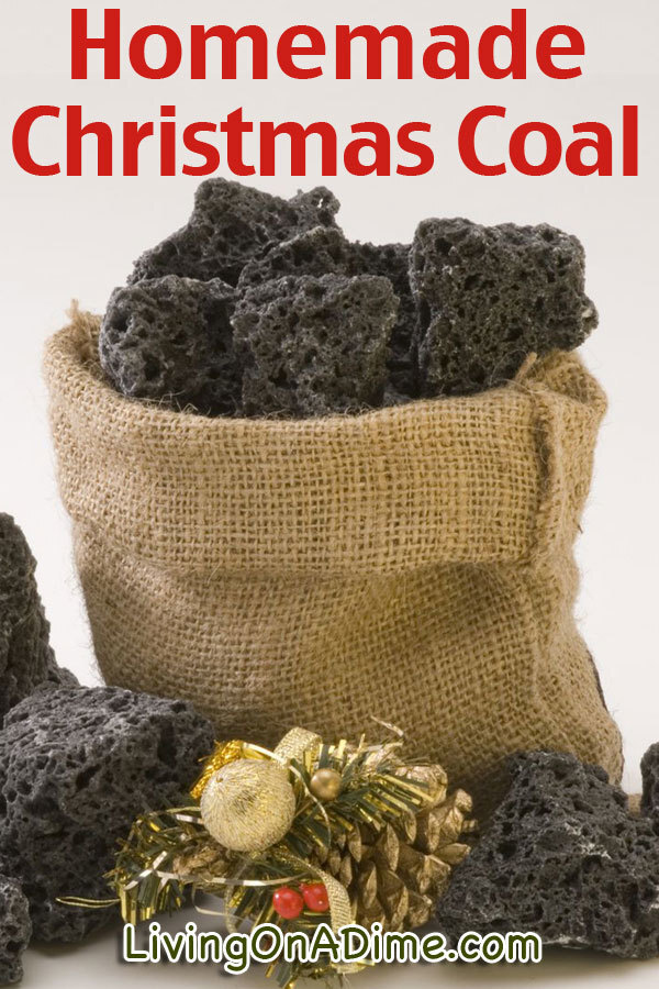 Homemade Christmas Coal Recipe