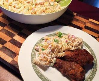 Recipe: Creamy Ranch & Veggie Pasta Salad