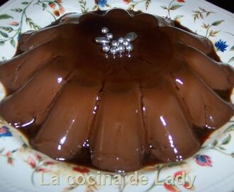 Flan Rápido de Chocolate (Thermomix)