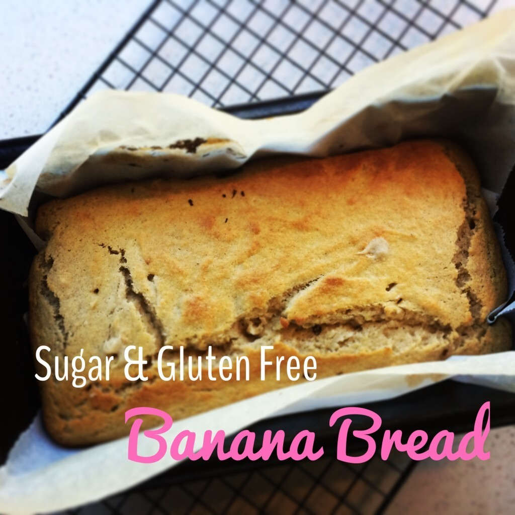 Simple Gluten and Sugar Free Banana Bread