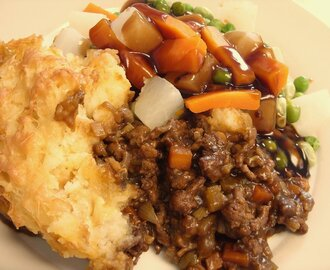 Rich Beef Cottage Pie - food of the gods!