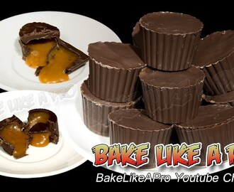 Caramel Filled Chocolates Recipe - Home made caramel filling ! yum !