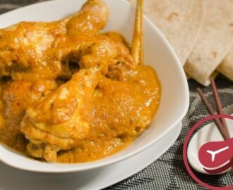 Muslos de pollo al curry