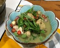 Thai Green Curry Chicken (paste from scratch)