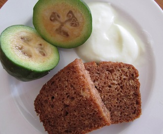 2 Posts, 1 Day : Feijoa and Ginger Loaf