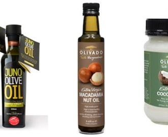 My top fats/oils to use in the kitchen