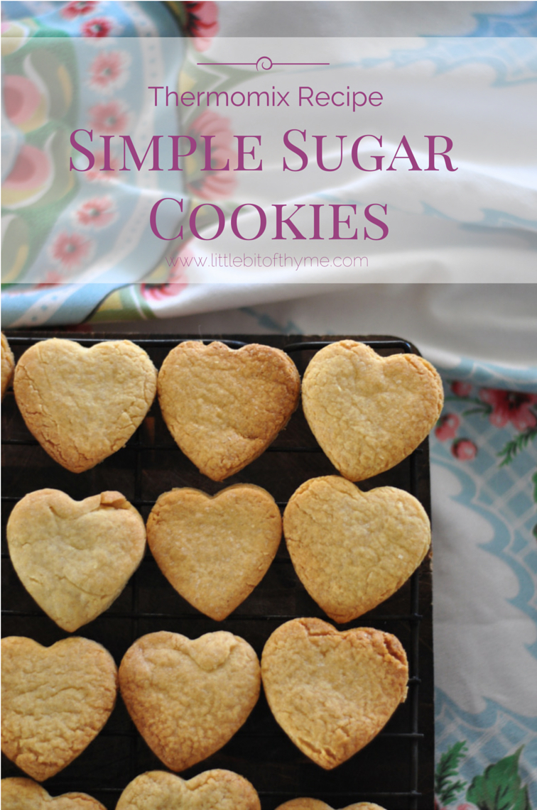 Thermomix Recipe :: Simple Sugar Cookies
