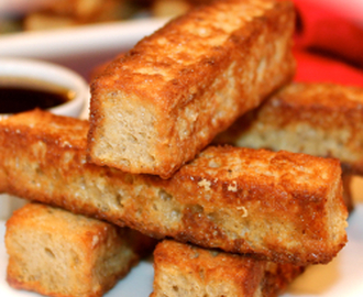 ~ Finger Food:  Eggnog Brioche French Toast Sticks ~