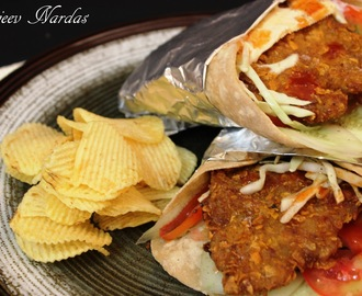 KFC Wrap - Kurkure (Crispy) Fried Chicken Wrap
