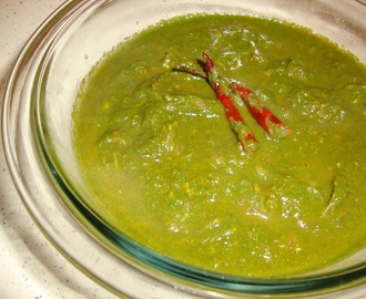 Palak Ka Saag ( Spinach Curry )