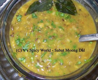 Sabut Moong Dal / Whole Green Gram / Moong Dal