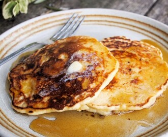 Celebrate Better Breakfast Week with New Zealand Honey and my Fluffy Porridge Pancakes Recipe!