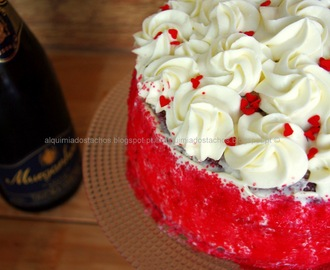 Birthday cake... Red Velvet Cake