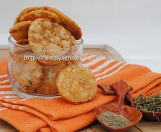 Mathri- Crispy Indian savoury crackers.Blog Hop Wednesday 8th August 2012