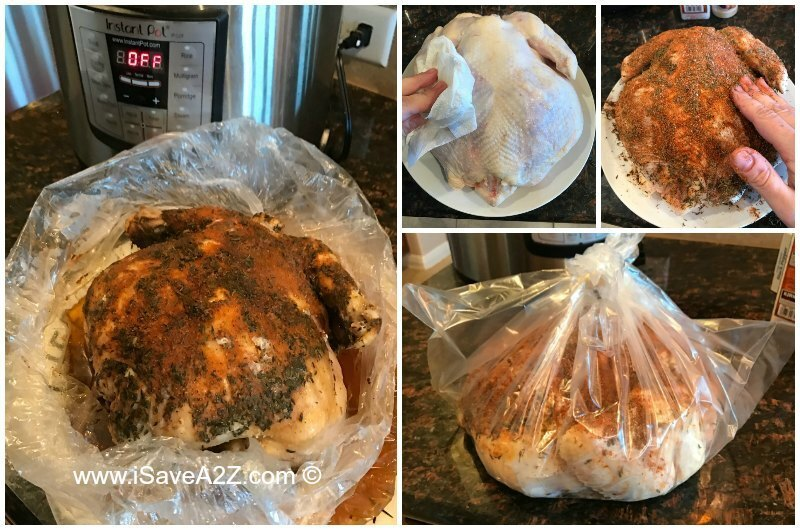 Comment on Rotisserie Chicken Pressure Cooker Recipe by Penny