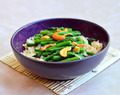 Asparagus and Cashew Stir-fry